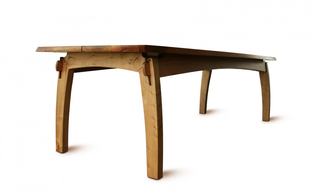Quilpo Dining Table and Bench
